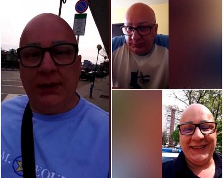 Отмъстителят от Кючук Париж разбил 3 банкомата и 5 коли на ЕVN