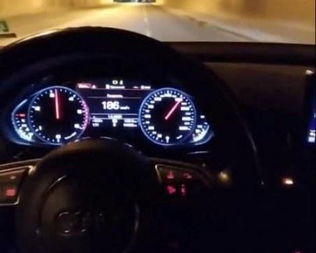 Джигит се похвали с бясно шофиране в центъра на Пловдив