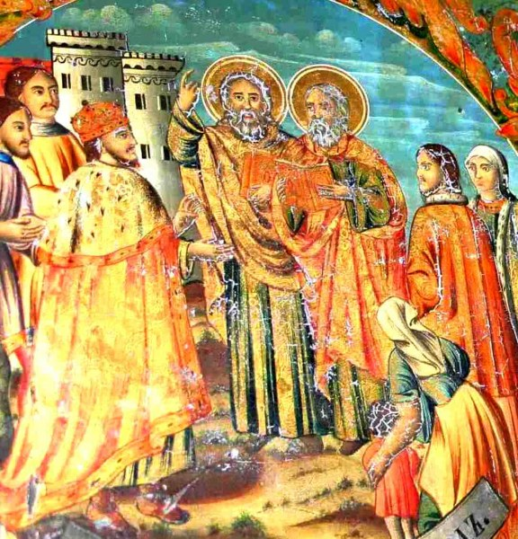 Днес почитаме царя покръстил българите