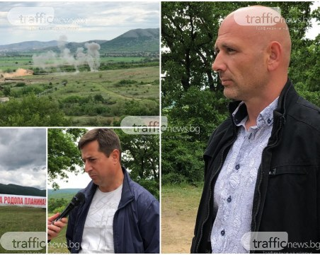Нарушители влязоха до полигона в Црънча! Кметът: Не са от протестиращите