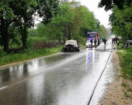 Три жени загинаха в тежка катастрофа край Силистра