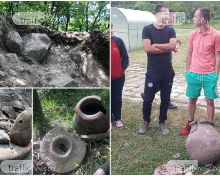 Црънчани спасиха древни находки, осуетиха иманярски грабеж