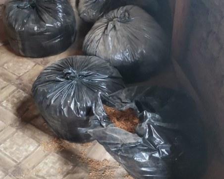 Разбиха незаконен цех за тютюн, намериха над 900 килограма от стоката