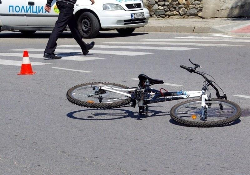 Велосипедист пострада при ПТП с товарен автомобил в Пловдив