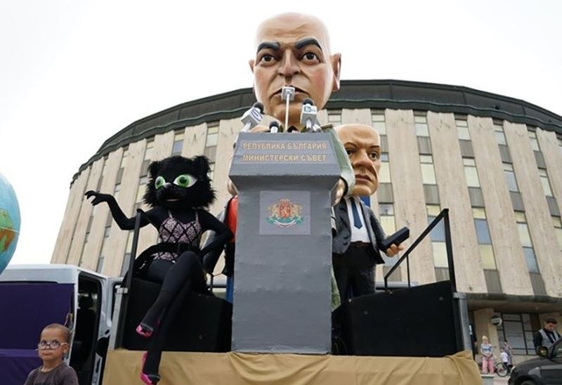 Ген. Мутафчийски - герой на Карнавала на хумора в Габрово