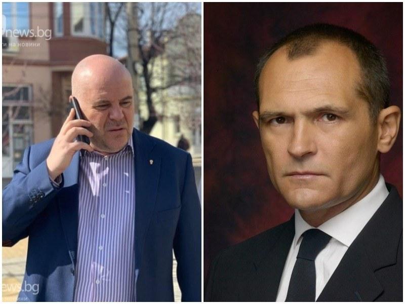 Гешев: Публикуваните СМС-и са защитна реакция на Божков