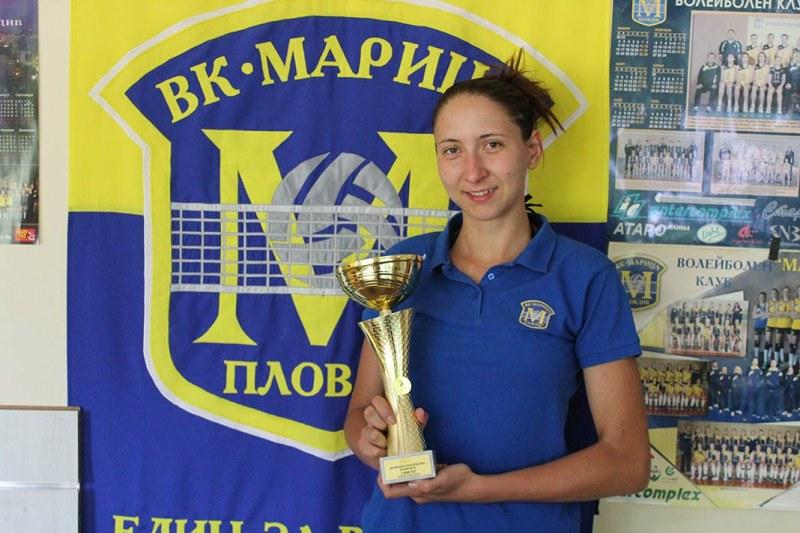 Треньорка в Марица: Всяка година клубът израства