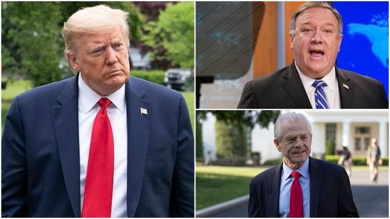 Китайска телевизия: Тръмп, Помпео и Наваро са