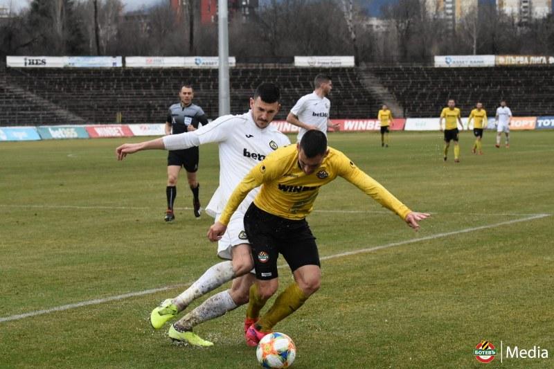 Ботев ще играе контрола на 29 май