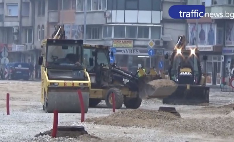 За седмица: Ключов булевард в Пловдив - блокиран, поставят нов асфалт