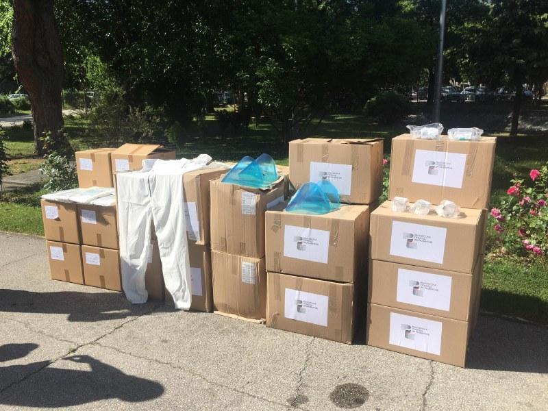 България дари облекла за над 600 000 лв на Скопие и Тирана