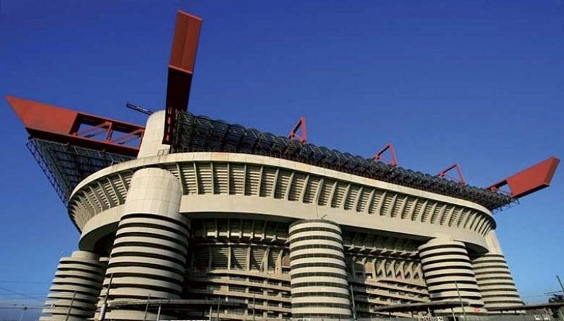 Бутат легендарен стадион в Италия