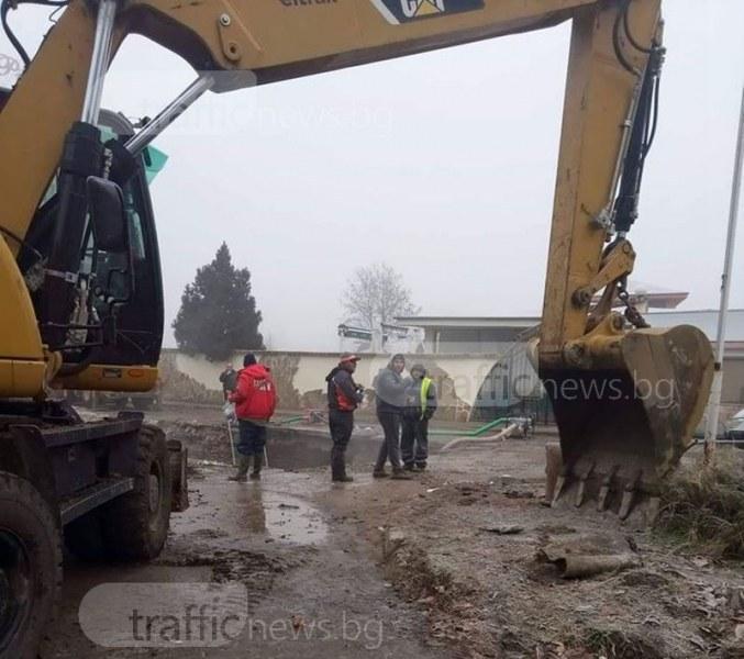 Четири села в Пловдивско са без вода днес
