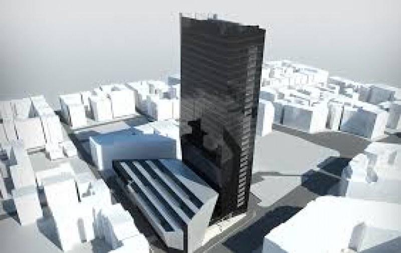 Прокуратурата подхвана небостъргач в центъра на София