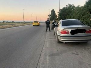 Хванаха 18-годишен дрифтър в Пловдив