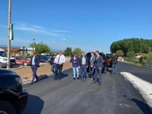 Премиерът инспектира ремонта на пътя Пловдив – Пазарджик, по-натоварен бил от АМ