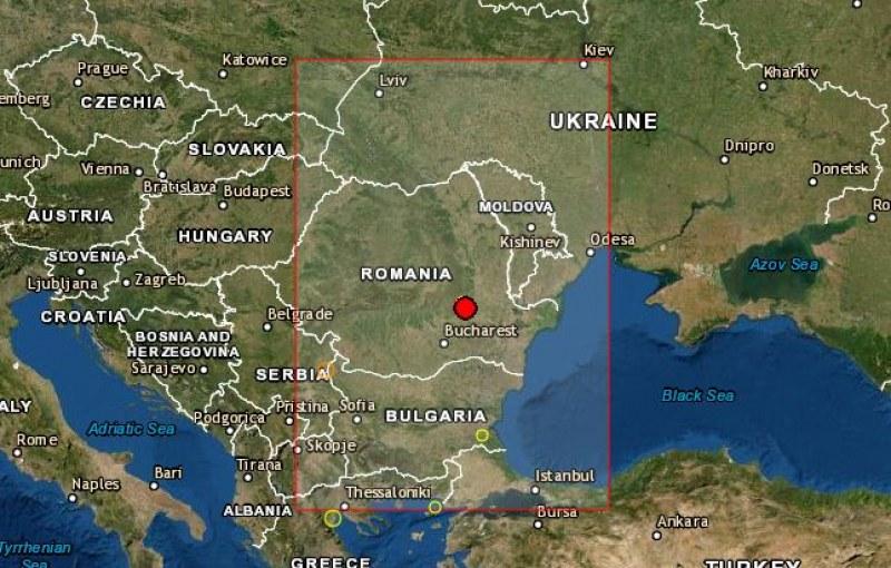 Земетресение удари сеизмичния район на Вранча