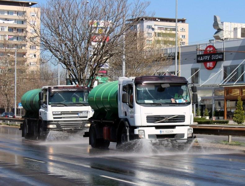Дезинфекцират улиците в Пловдив по ГРАФИК