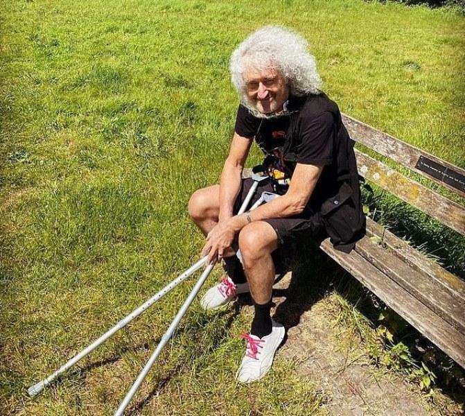 Легендарният китарист на Куин Брайън Мей прекарал миниинфаркт