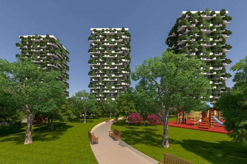 """Таха Рахман показа какво иска да строи в парка зад хотел """"Санкт Петербург"""""""