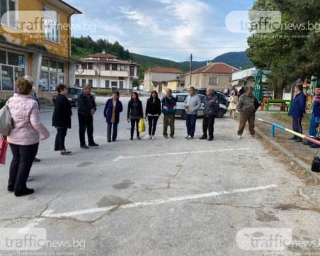Инспекция извършват на мястото на катастрофата в село Дебръщица