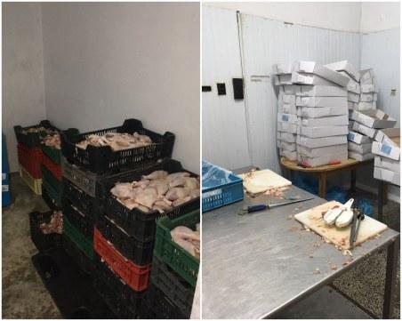 Удариха цех за месо край Пловдив! Унищожават 1 тон нелегална стока