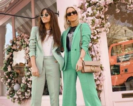 Как да съчетаем хитовия цвят през този сезон - ментово зелено?