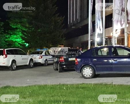 Много полиция пред клуб