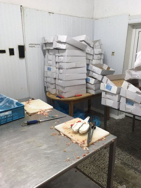 Цехът с нелегалното месо край Пловдив бил санкциониран само преди месец