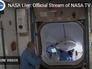 НА ЖИВО: Бенкен и Хърли се присъединиха към екипажа на Международната космическа станция