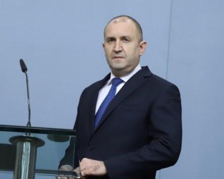 Румен Радев: Децата са най-голямото богатство на България и заслужават много по-добро бъдеще