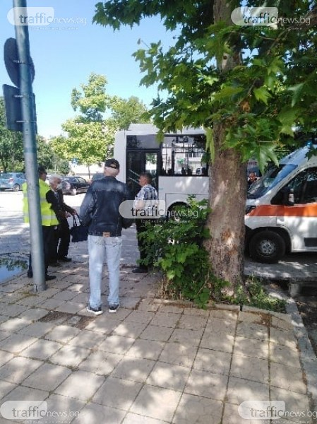 61-годишен е блъснатият от автобус в Тракия, ето какво е състоянието му