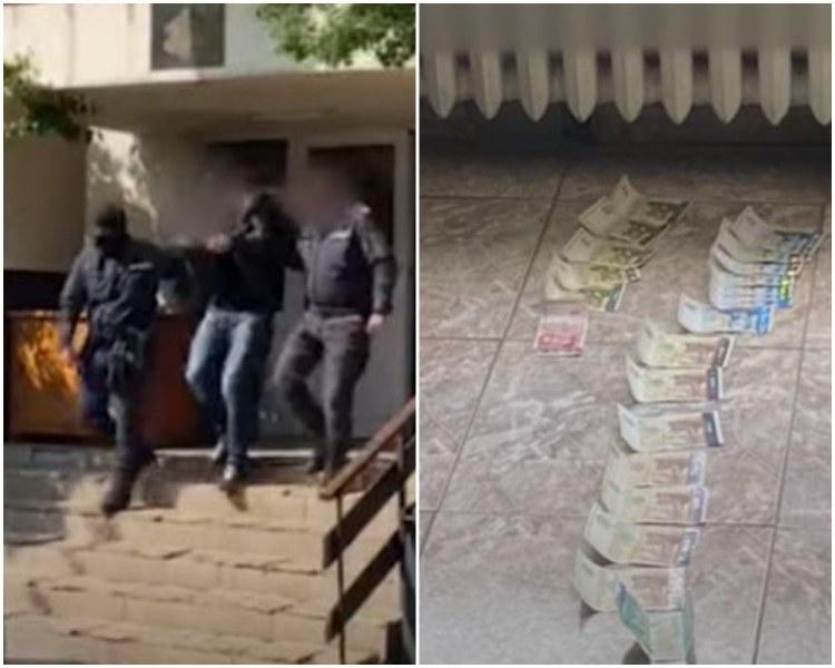 Ето ги подкупните полицаи: МВР показа ВИДЕО от акцията, рушветите и ареста