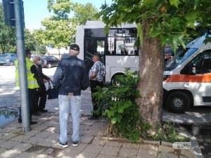 61-годише е блъснатият от автобус в Тракия, ето какво е състоянието му