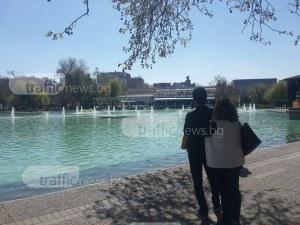 От днес: Пускат пеещите фонтани в Пловдив