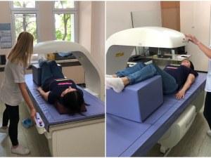В Пловдив започна работа последно поколение апарат за измерване на костна плътност
