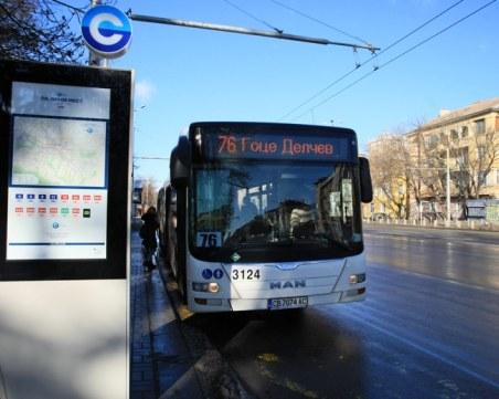 24 млн. лева загуби за градския транспорт в София заради пандемията