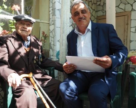 """98-годишен ветеран от община """"Марица"""