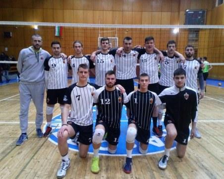 Волейболният Локомотив се завръща в елита на България