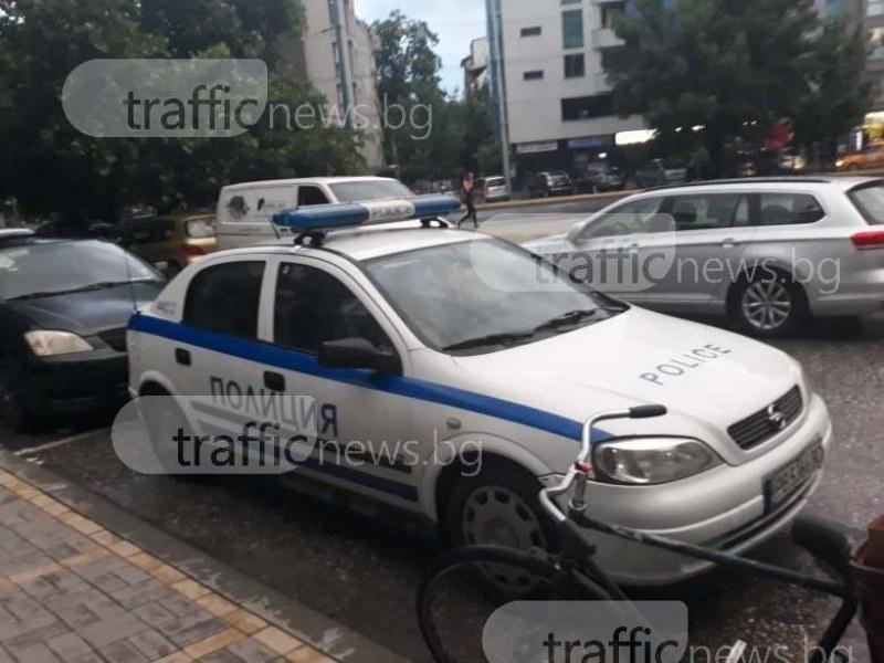 Асеновградчанин си спретна гонка с полицията, тийнейджър катастрофира с краден мотор