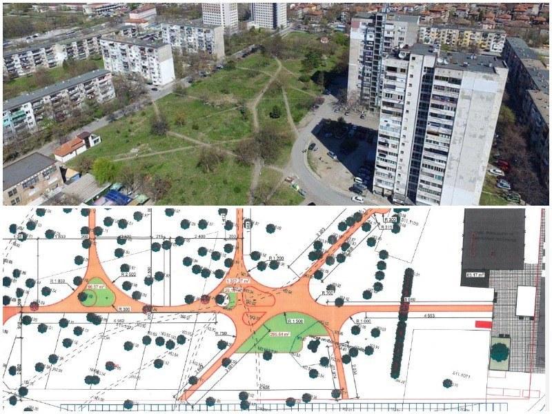 """Фирмата обновила площад """"Централен"""" ще строи новия парк с редица атракции  в Пловдив"""