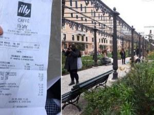 В Италия надуха цените! Плащаме 21 евро за сок и капучино на площада Сан Марко