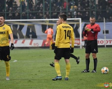 Ботев - Ботев Враца 0:1, бивши канарчета изработиха гола НА ЖИВО
