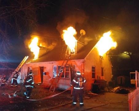 Две деца загинаха в пожар във вила в Шуменско