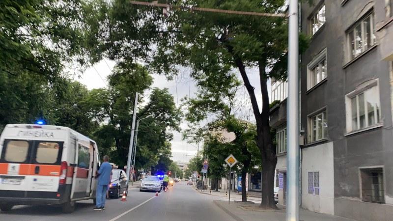 Млада шофьорка предизвика верижна катастрофа в Кючука