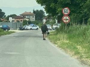 Посред обяд: BMW и полиция с луда гонка в Пловдив