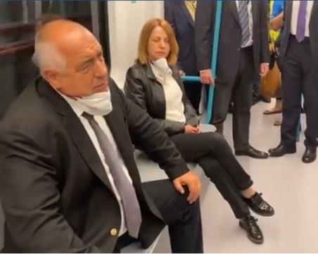 Борисов: При нас метрото е със 100 млн. евро по-евтино, защото нямаме корупция