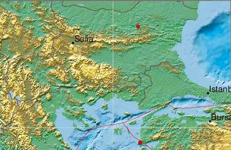 Земетресение разлюля Северна България