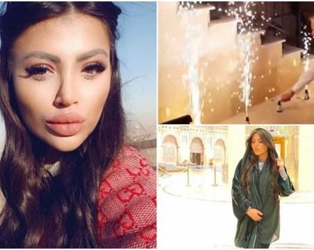 Дубайската принцеса Драгана Спасовска enjoy-ва живота в Пловдив