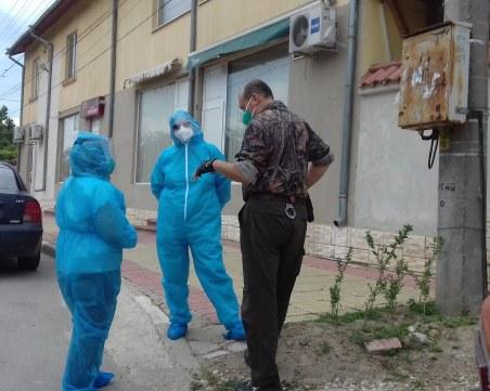 КПП-та в плевенско село, маските стават задължителни